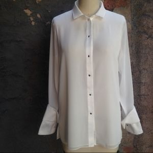 New Halston Heritage  long sleeve blouse
